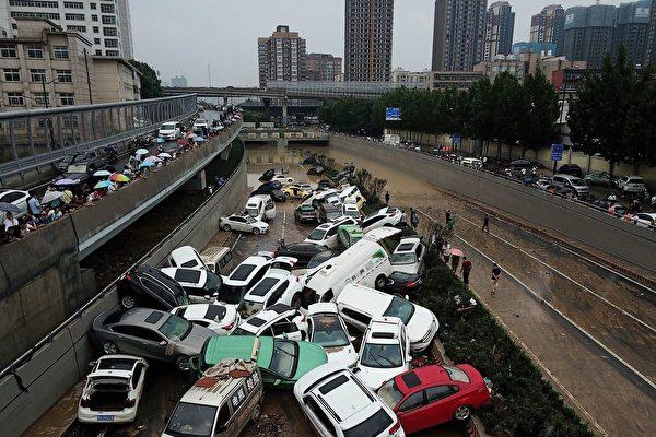石山:鄭州雨災激活的感言