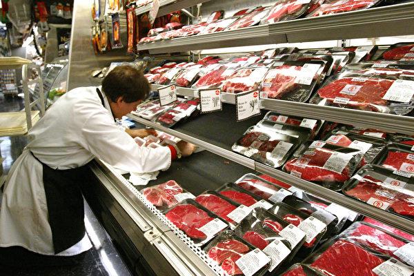 受到疫情影響,美國食品價格上漲。(Spencer Platt/Getty Images)