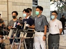 組圖:抗議港警向學生開槍 六校學生緊急罷課