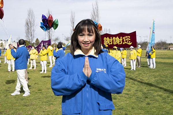 洛杉磯越南裔法輪功學員Tiffany。(季媛/大紀元)