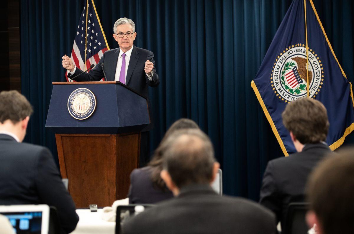 美聯儲1月30日公布2019年首個貨幣政策,維持聯邦基準利益不變,並釋放暫緩未來加息的明確信號。(SAUL LOEB/AFP/Getty Images)