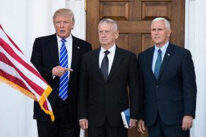 特朗普:考慮委任退役傳奇將軍馬蒂斯為防長