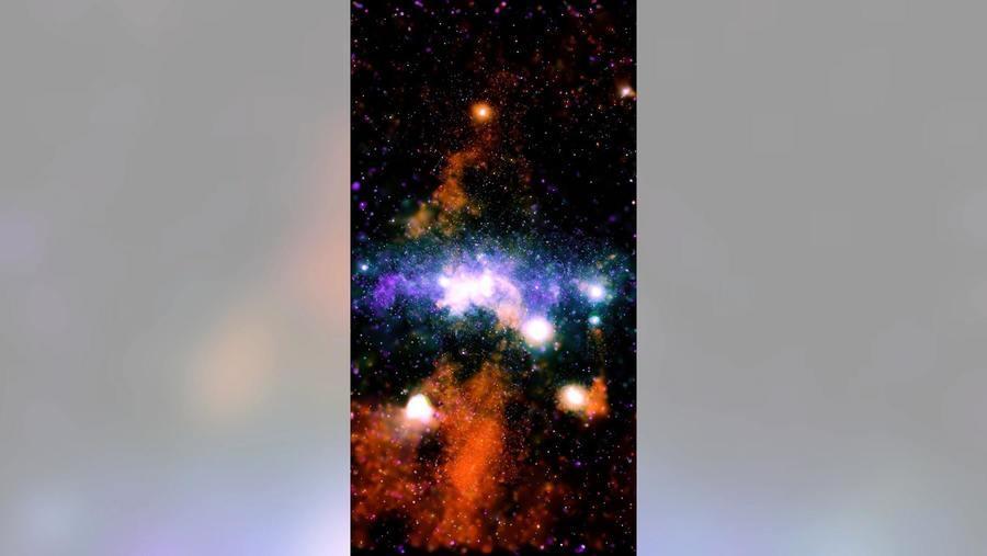 NASA披露銀河系近照 七彩霓裳燦若煙花