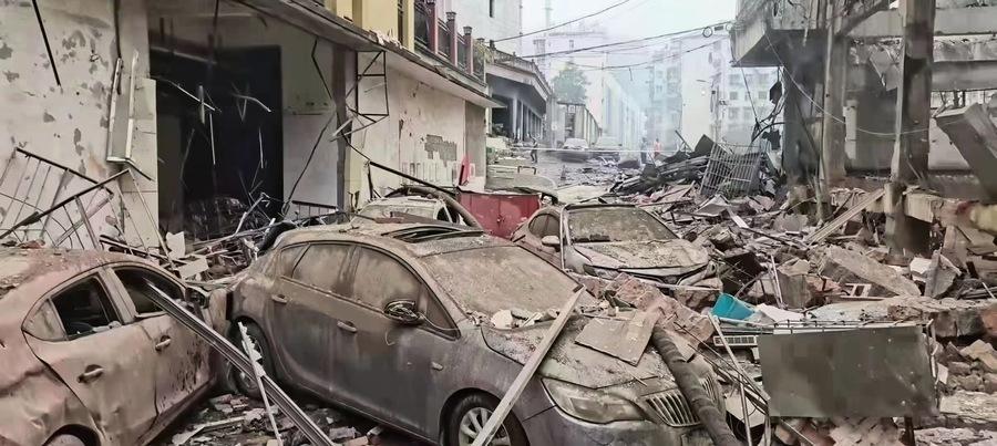 【一線採訪】十堰氣爆 附近店家講驚心一幕