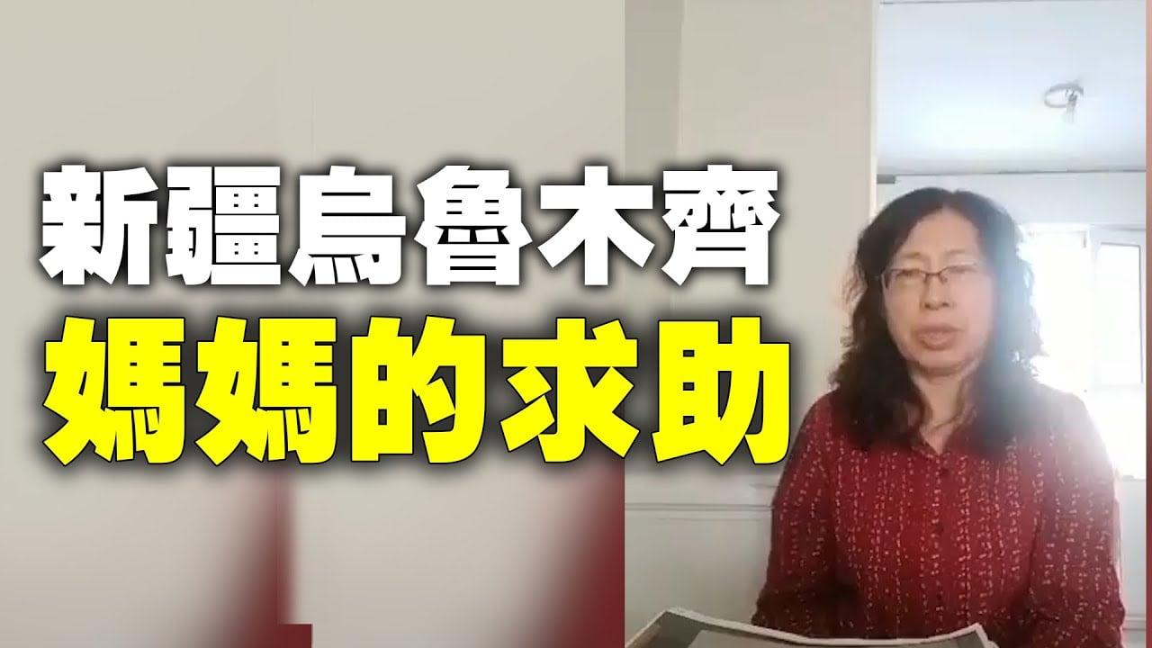 遼寧省瀋陽人李霖因發了5條關於新疆現狀的推文,被判刑4年。(影片截圖)