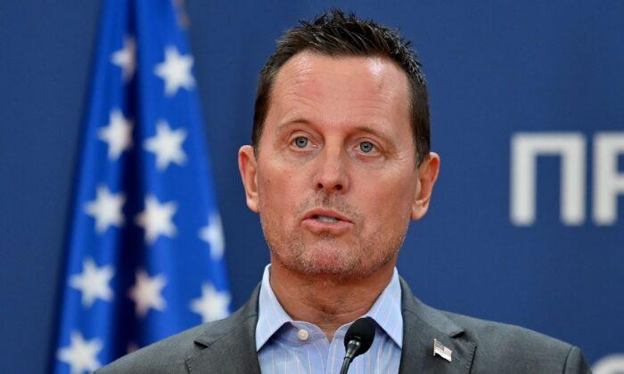 原代理國家情報總監理查德·格倫內爾(Richard Grenell)近日表示,2020年美國大選問題重重。圖為查德·格倫內爾資料圖。(ANDREJ ISAKOVIC/AFP via Getty Images)