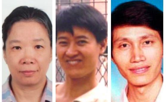 (從左至右)中國協和醫科大學副教授但凌遭冤判12年,北京西苑醫院主管藥師吳引倡遭冤判8年,中國協和醫科大學助理研究員林澄濤被非法勞教、迫害致瘋。(大紀元合成圖)