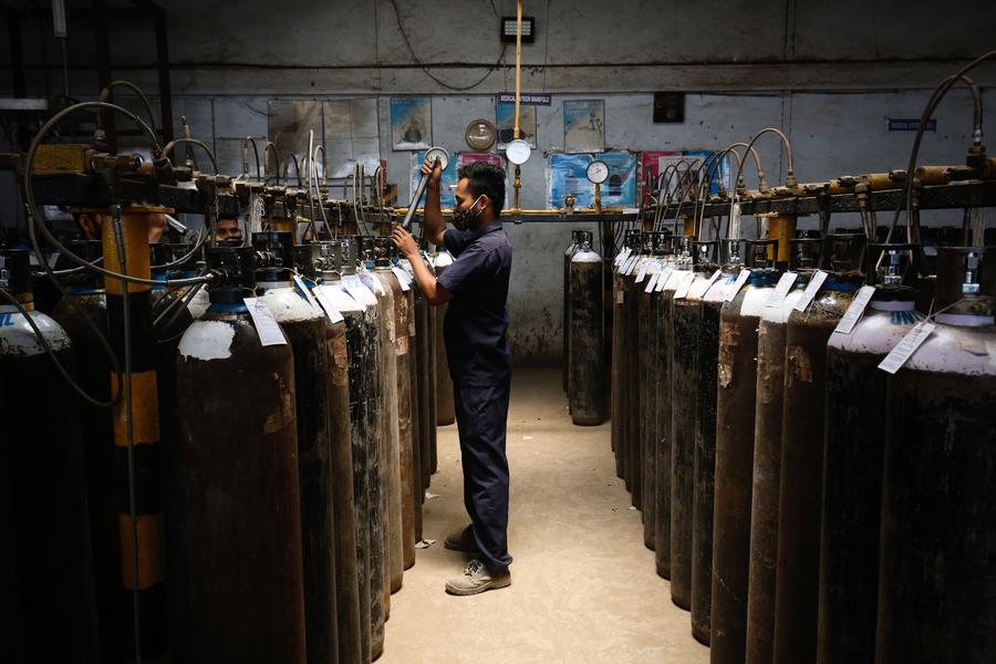 印度確診及死亡人數雙創新高  逾40國承諾援救提供氧氣