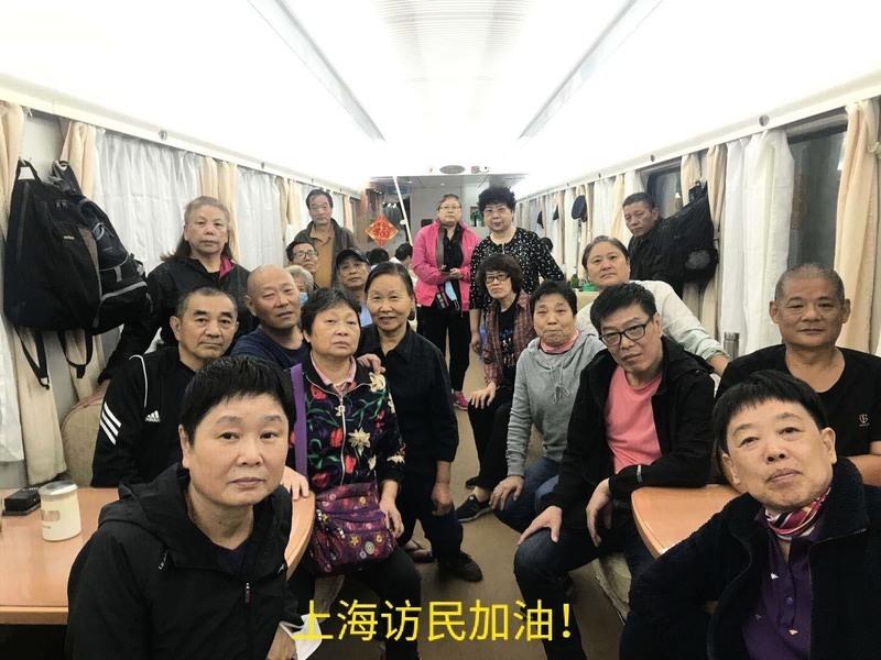 十一臨近 上海訪民北京巴士上被攔截