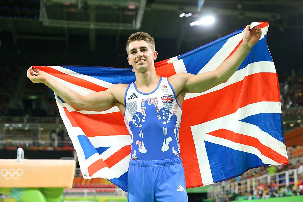 Max Whitlock2小時內英國首兩面體操金牌。 (Alex Livesey/Getty Images)