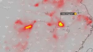 武漢大氣出現驚人濃度的二氧化硫 在燒甚麼?