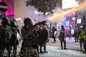 香港變相戒嚴 警逐區搜捕 無差別驅散