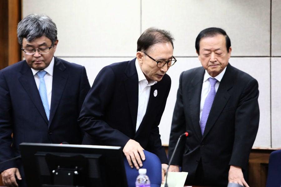 南韓前總統李明博終審獲刑17年 須入獄服刑