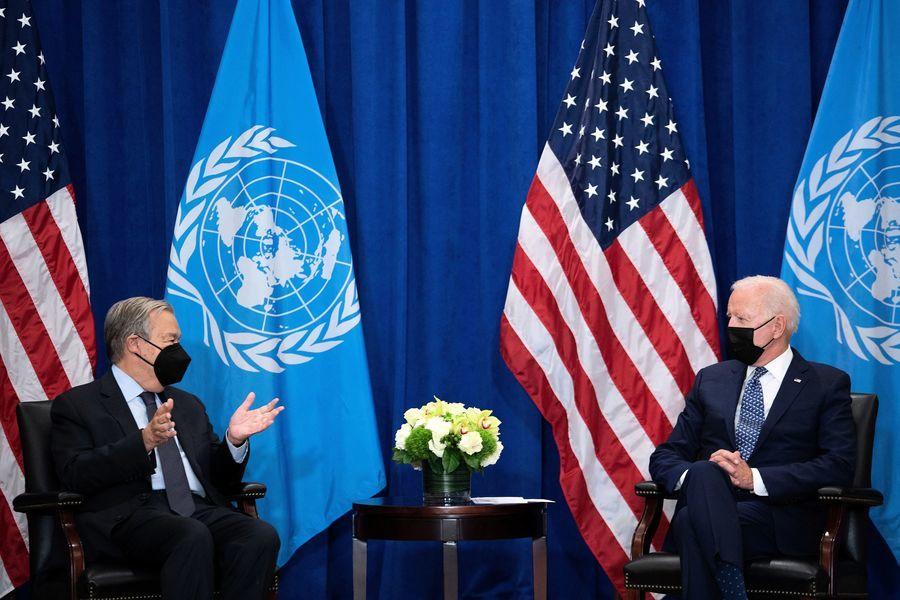 拜登今聯合國演講 不尋求跟中國的新冷戰