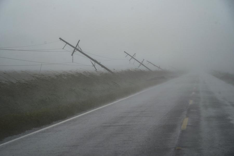 颶風「艾達」逼近 路易斯安那州數萬人撤離