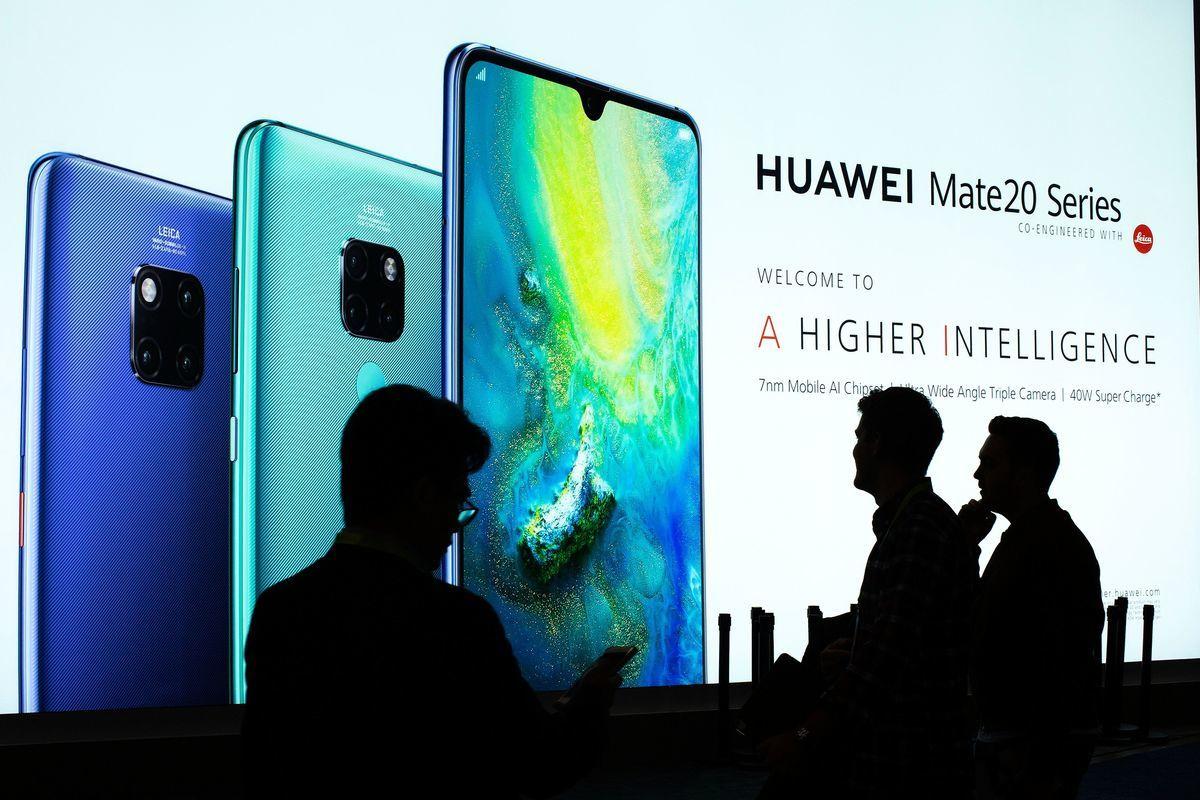 鴻蒙系統即使推出,華為手機在國際市場上也幾無勝算。 (DAVID MCNEW/AFP/Getty Images)