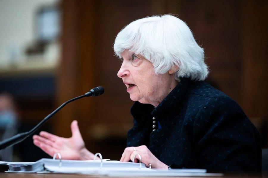 耶倫:相信美國會將通過全球企業最低稅