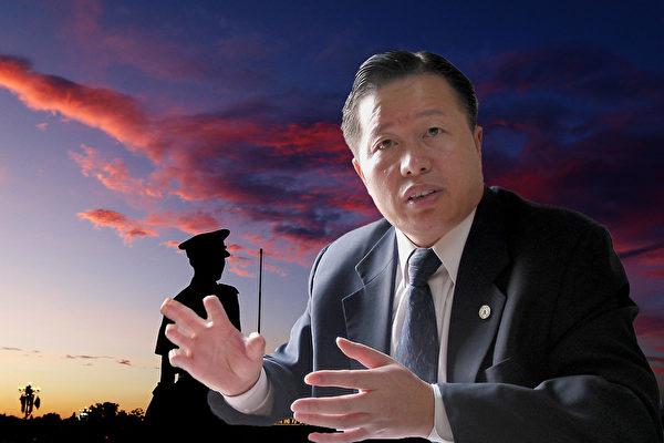 被譽為「中國良心」的著名維權律師高智晟,自2017年8月以來,一直被中共當局秘密關押。(大紀元合成圖)