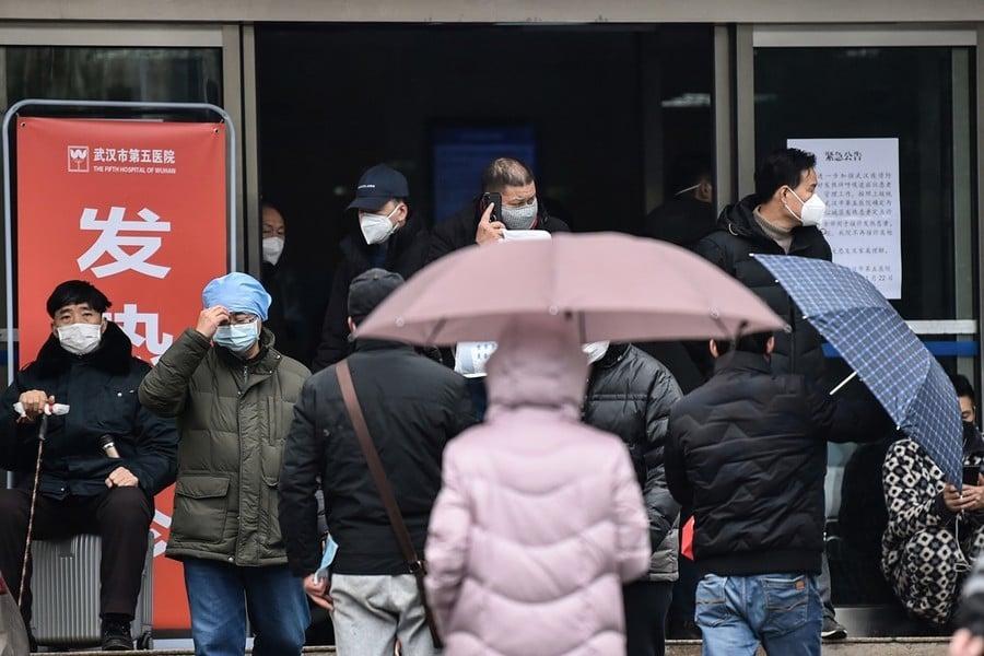 【一線採訪】武漢訪民疑軍運會期間染中共病毒