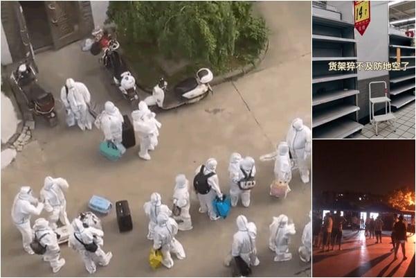 【一線採訪】揚州封城規模超去年 疫情蔓延【影片】