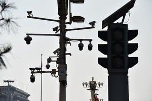 2021年全球監控錄像頭達10億 過半在中國