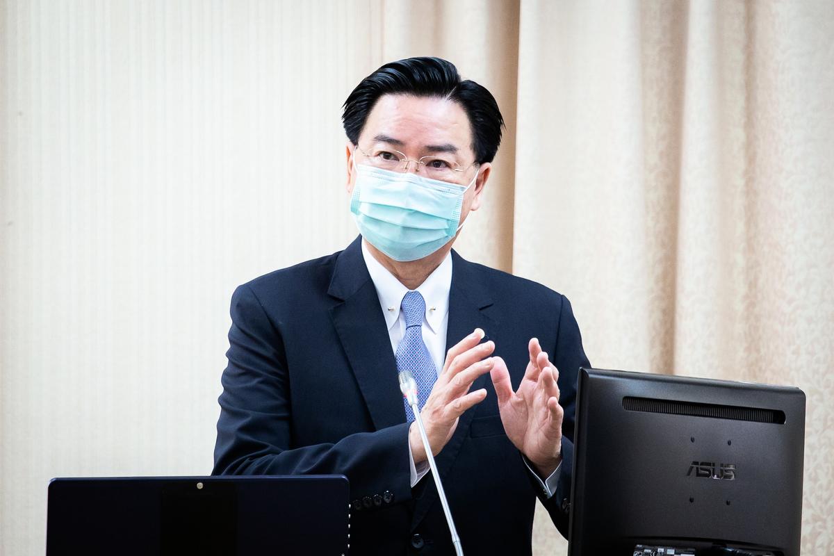 台灣外交部長吳釗燮資料照。(陳柏州/大紀元)