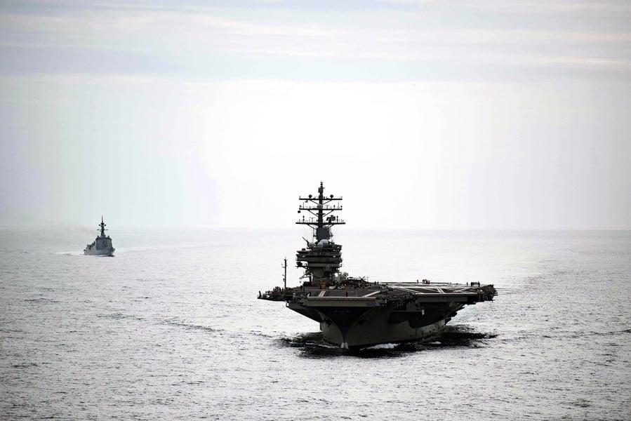 沈舟:列根號航母出動 美軍升級戰備