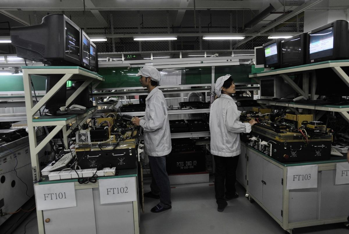 數據顯示大陸僅有32%中小企業復工。圖為示意圖。(AFP/AFP via Getty Images)