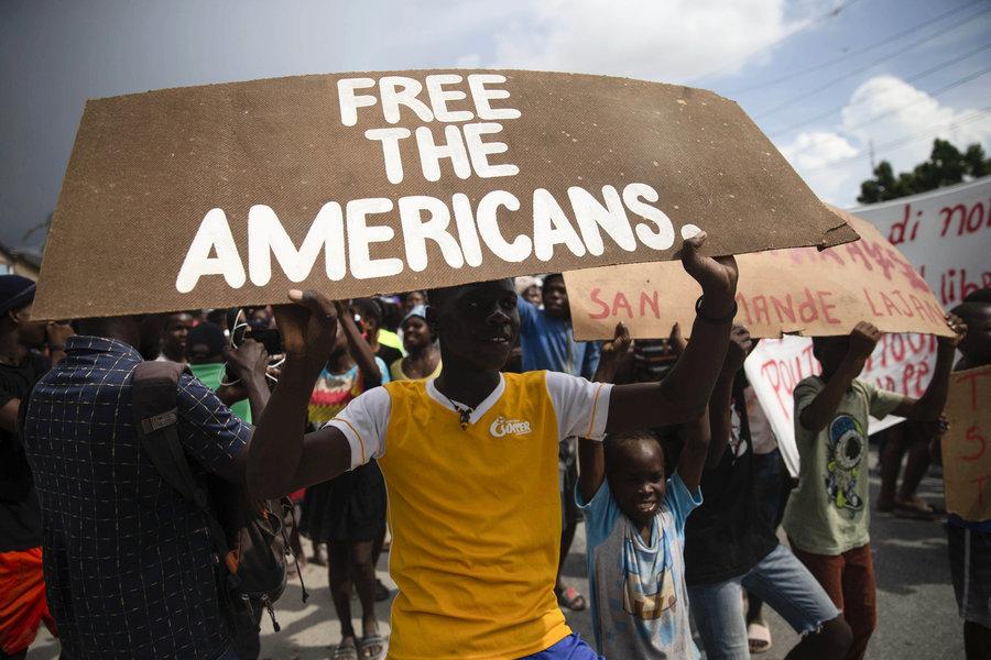 美加17公民被綁架 海地黑幫索1700萬贖金