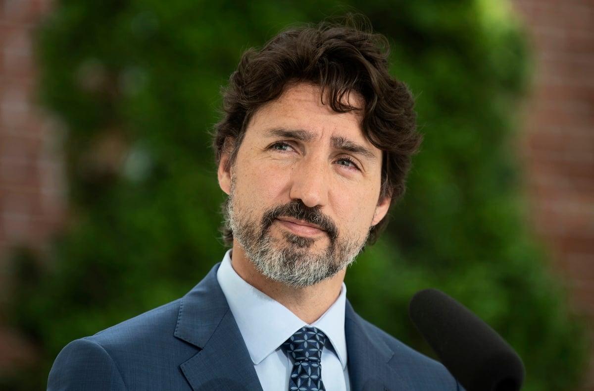 杜魯多2020年6月22日表示,加拿大將繼續努力,爭取「這兩名被任意拘留的加拿大人」獲釋。(加通社)