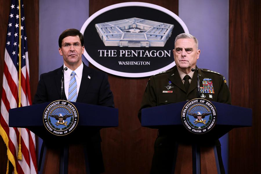 伊朗導彈襲基地 美國國防部披露更多細節
