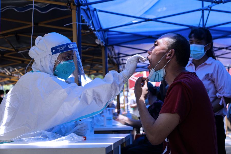 廣州核酸篩查發現陽性病例 疫情蔓延至東莞