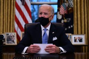 拜登:特朗普給我留下一封「非常仁慈」的信