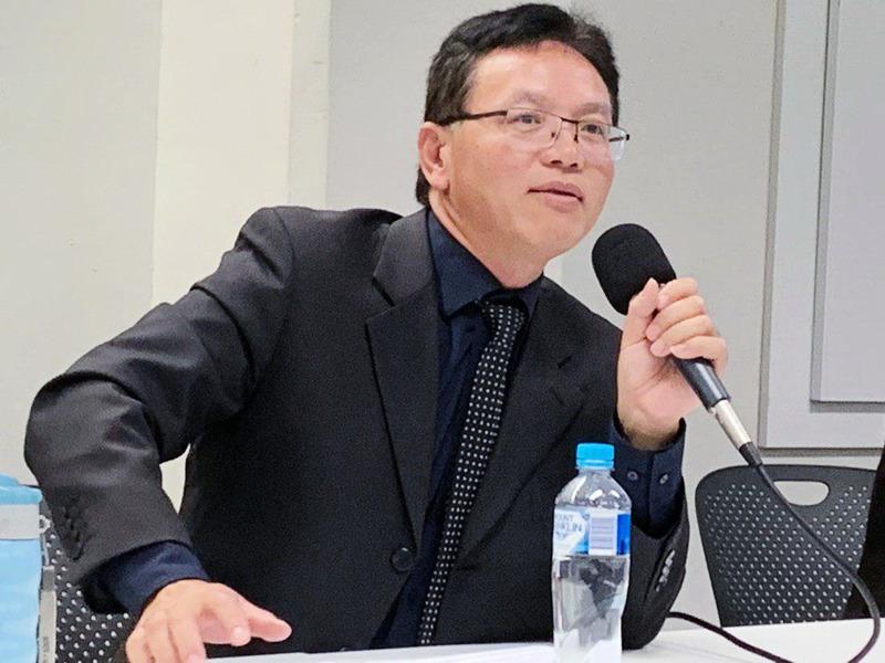 陳用林再揭領館間諜活動 力挺《外交關係法》
