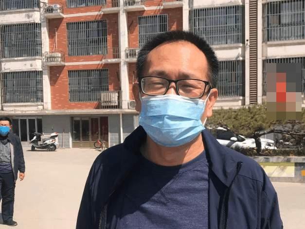 2020年4月20日上午,曾在709案中遭受酷刑的謝陽律師專程從長沙前往濟南看望王全璋(圖)。(推特照片)