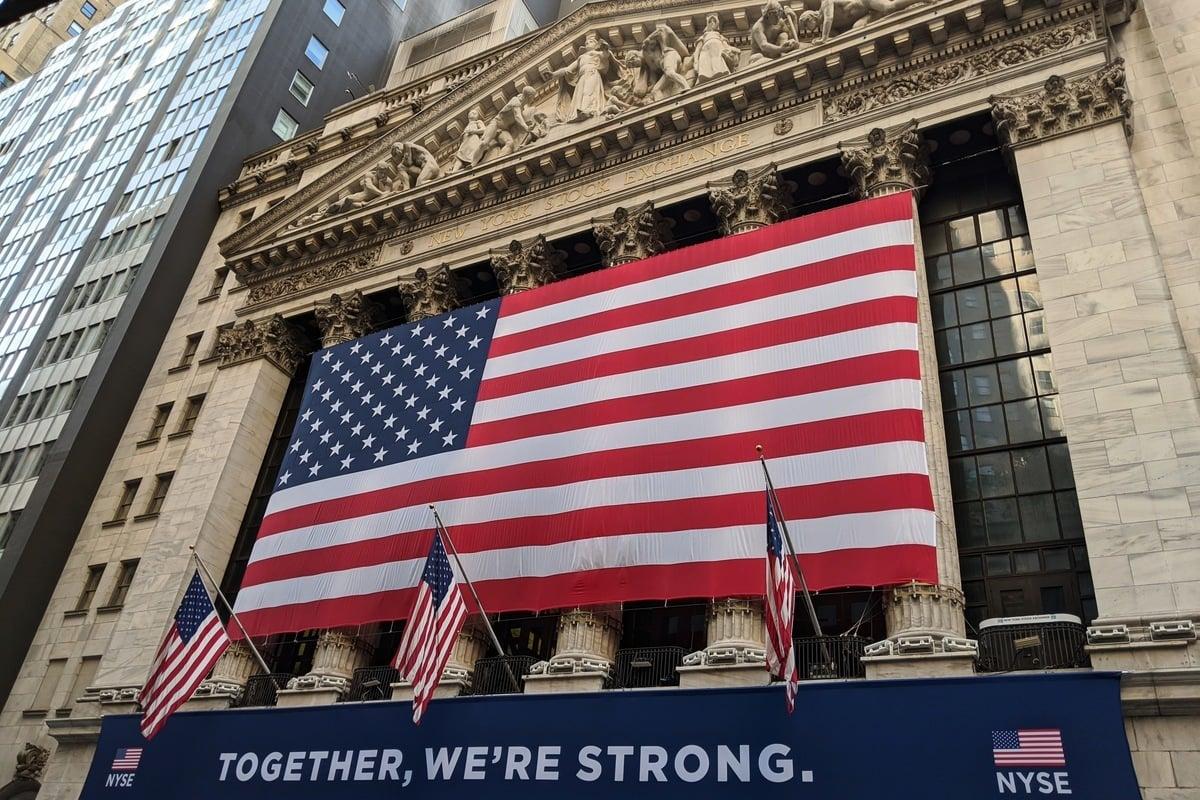 美國證券交易委員會(SEC)主席加里·詹斯勒(Gary Gensler)要求SEC人員停止處理大陸企業通過「空殼公司」在美國IPO的註冊。圖為紐約證券交易所(NYSE)大樓外一景。(黃小堂 /大紀元)