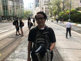 退休老師:香港的青年人應該有一個未來