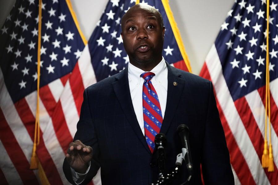非裔參議員:特朗普是美最有影響力政治人物