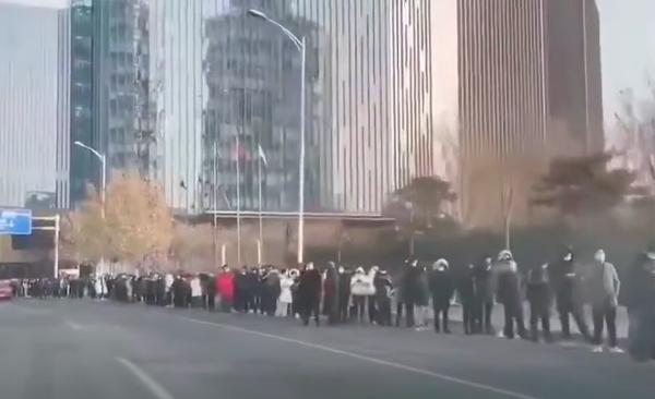 北京融匯社區以外出現病例 上海疫情升級