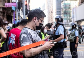 組圖:港人6.28靜默遊行 反對港版國安法