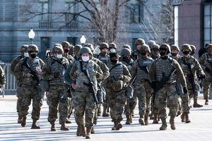 國會大廈附近冒煙 拜登就職綵排人員疏散