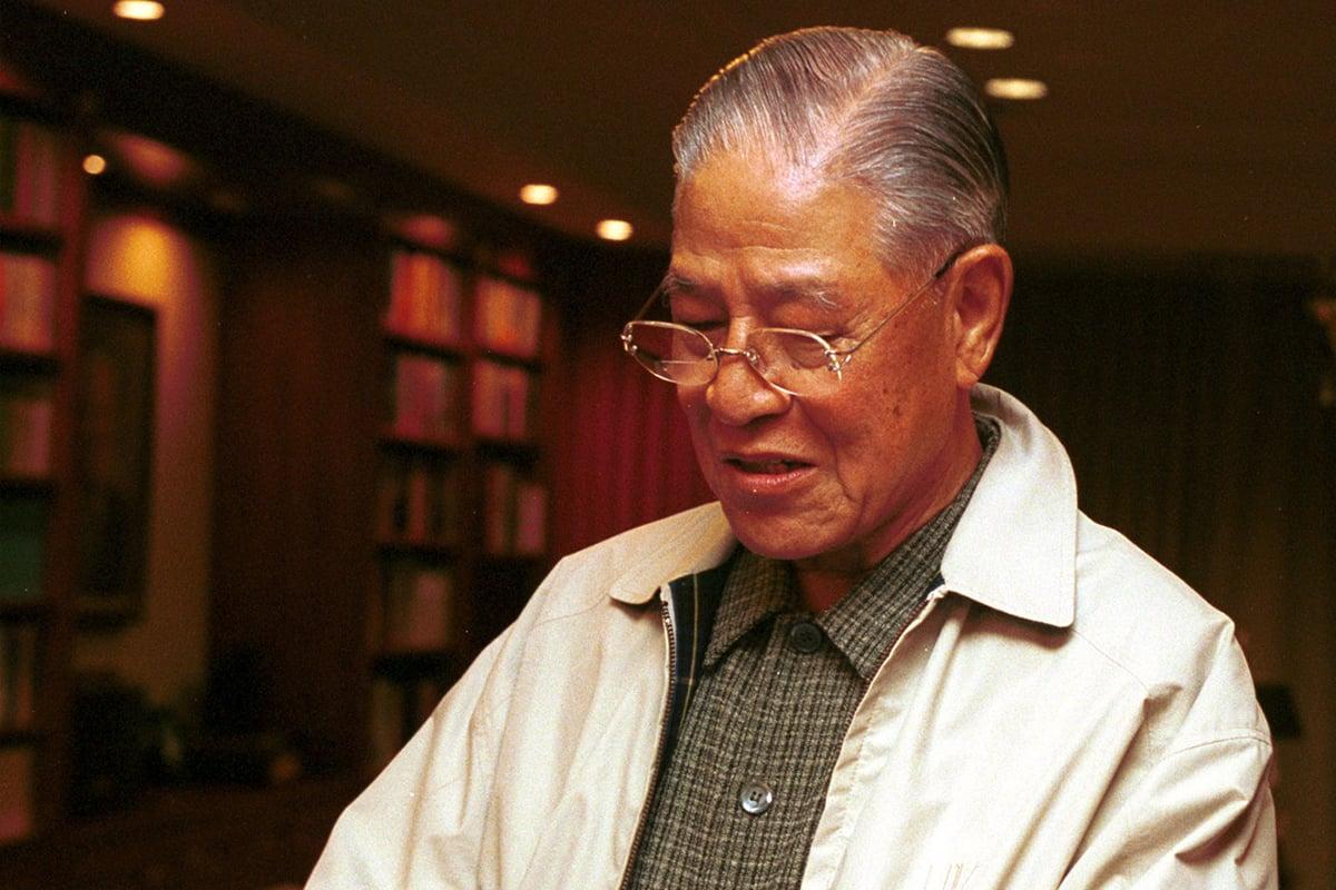 98歲高齡的中華民國前總統李登輝逝世,美國國務卿蓬佩奧7月30日發表聲明,代表美國人民,對他的逝世表示哀悼。(Koichi Kamoshida/Liaison)