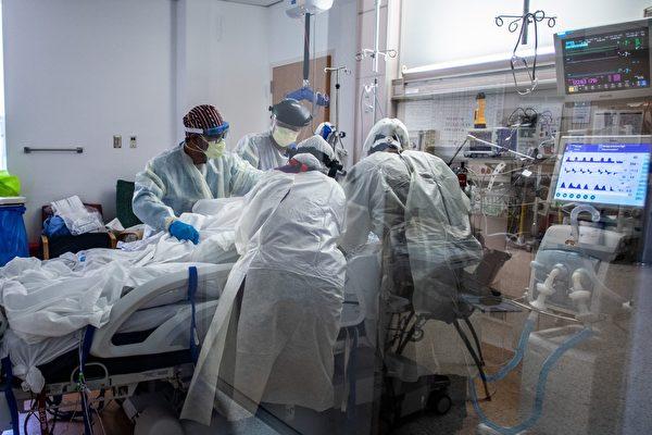 加州超過212萬人確診 醫療系統暫停非緊急手術