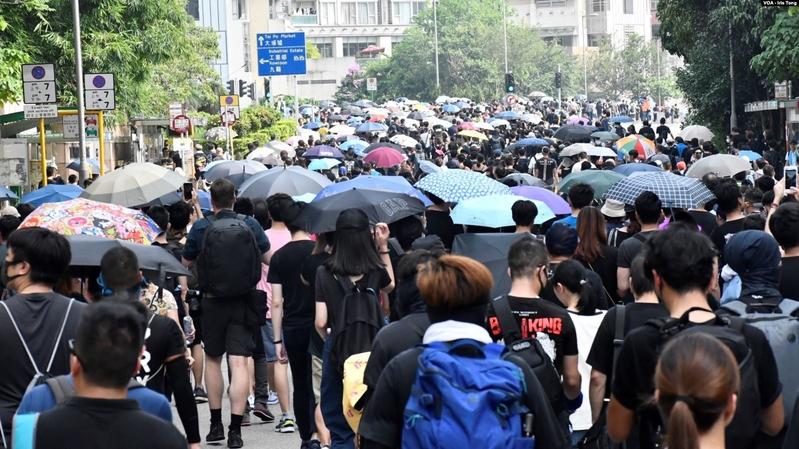 香港反送中周年 參與者籲靈活對抗中共