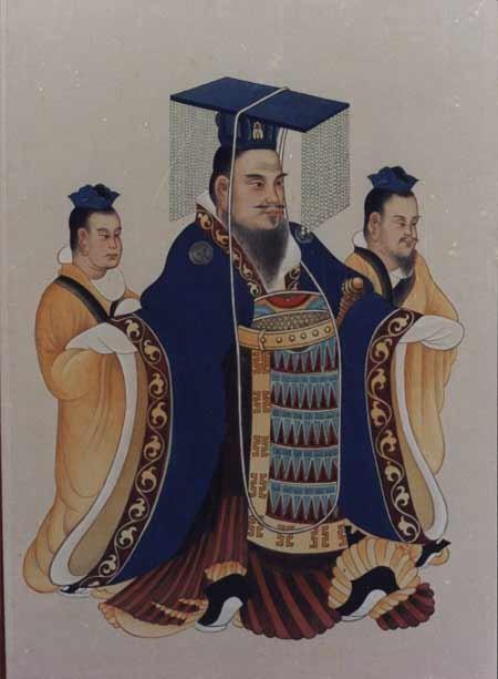 漢武帝畫像(公有領域)