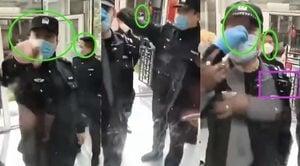 【現場影片】武漢市民抵制警察肆意入室搜查