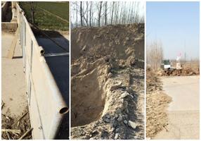 多地挖溝、堆土 硬性封路 河北急下禁令
