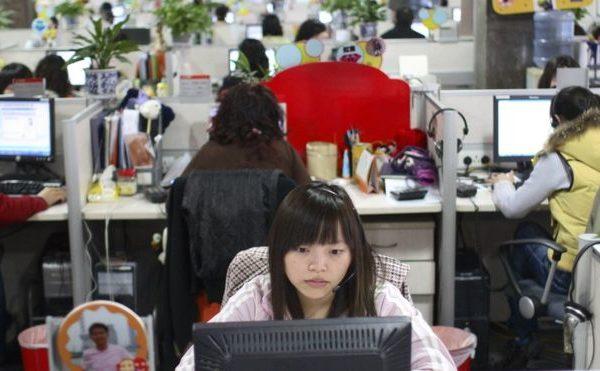 996工作制已成中國互聯網公司的「潛規則」。日前有搜狗員工不滿「為了加班而加班」,被老闆怒懟。(Getty Images)