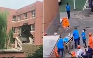 豆腐渣? 瀋陽小學樓板坍塌致2傷