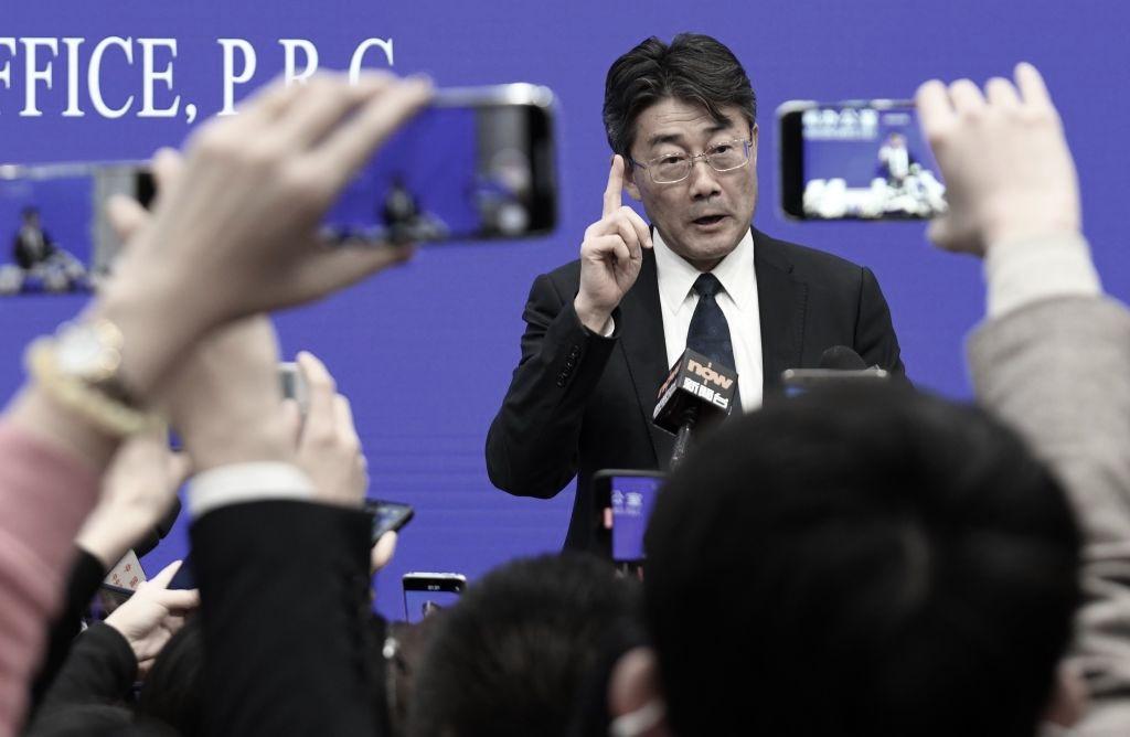 中國疾病預防控制中心(CDC)主任高福。(NOEL CELIS/AFP via Getty Images)